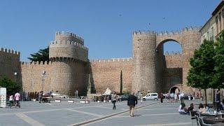 SPAIN Avila, Castilla y Leon (hd-video)
