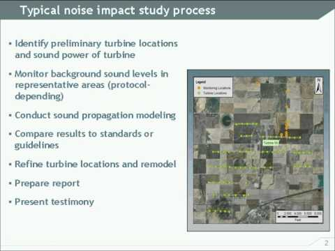 Understanding the Impacts of Wind Turbine Sound
