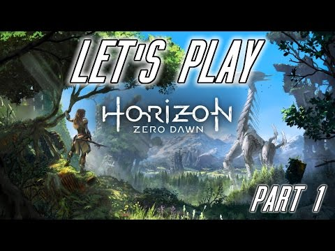 Let's Play: Horizon Zero Dawn | Part 1 (with Twitch Chat Reactions)