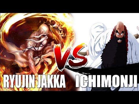 Bleach Online Ichimoji Vs Ryujin Jakka Youtube
