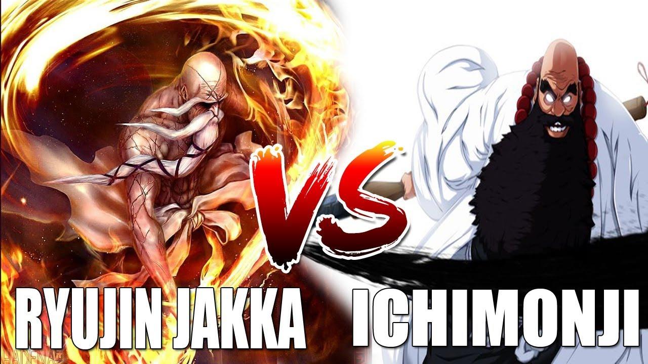 Bleach Online Ichimoji Vs Ryujin Jakka
