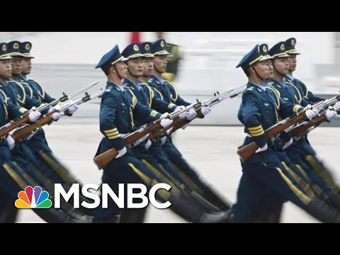 U.S. Official Says China Attempted To Create 'Super Soldiers'   Hallie Jackson   MSNBC