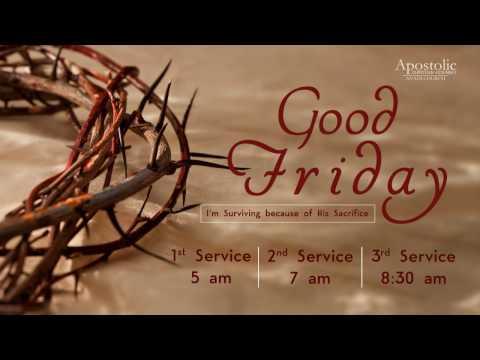 Good Friday Service | 14 April 2017 (Live Footage)