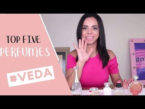 TOP FIVE PERFUMES - MEUS FAVORITOS  | #Veda 17