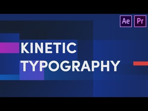Kinetic Typography | After Effects template