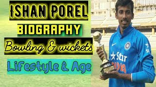 Ishan Porel (Cricketer) ipl team Height, Age, Girlfriend, Family, Biography