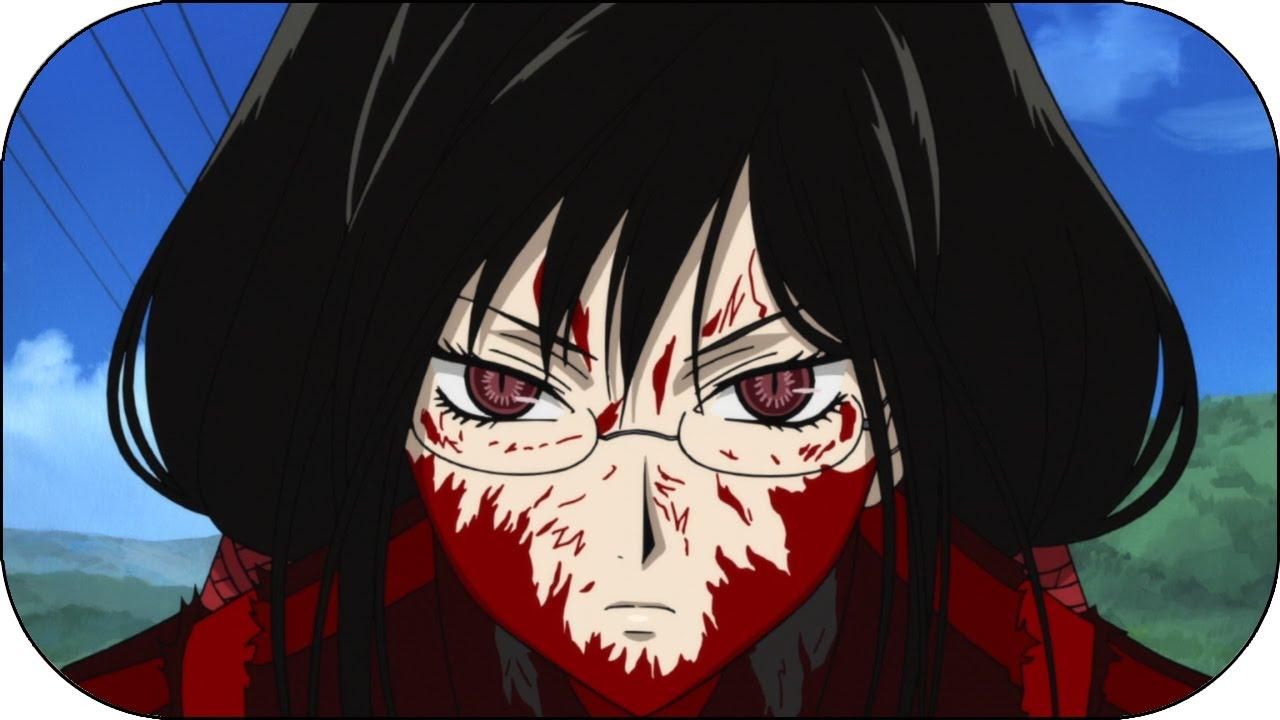 splatter anime