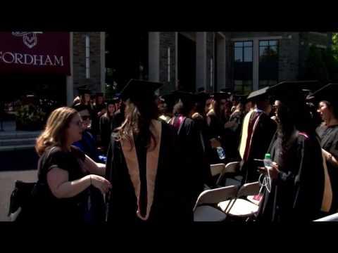 Fordham University Graduate School of Social Services Commencement 2017