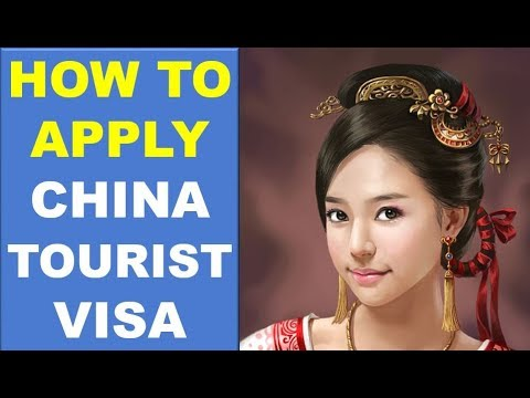 How To Apply China Tourist Visa From India