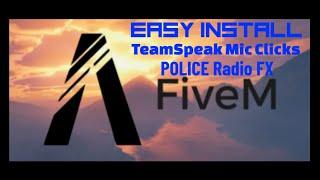 WORKING 12-2020 TEAMSPEAK POLICE RADIO FX AND MIC CLICK (READ DESCRIPTION)