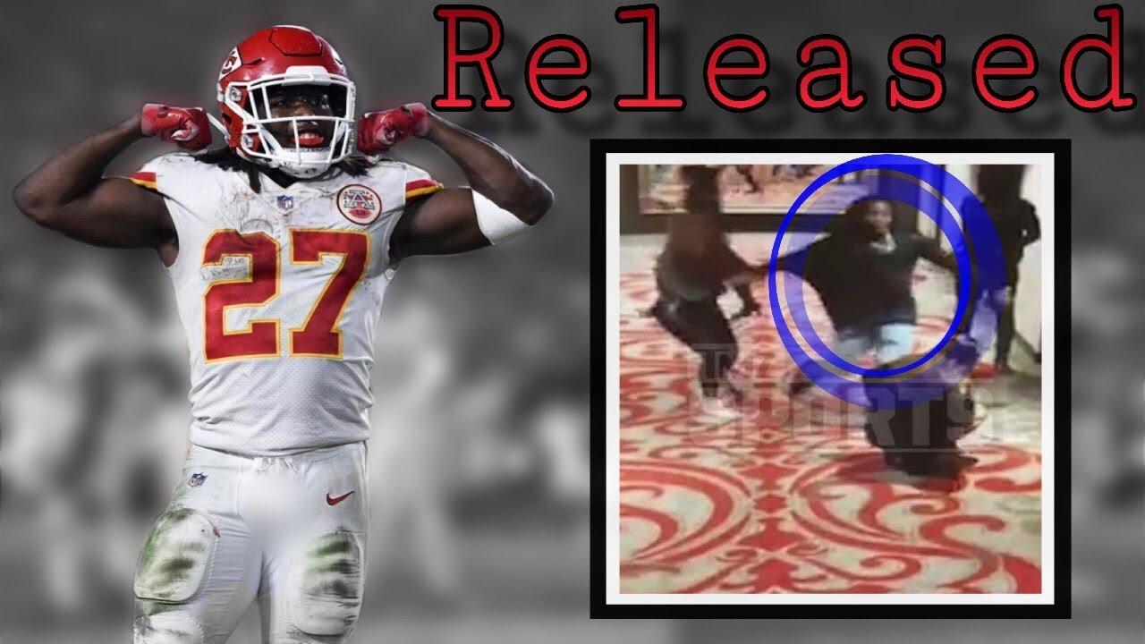 3e169a9ec09 Kansas City Chiefs Release Star RB Kareem Hunt after leaked video ...