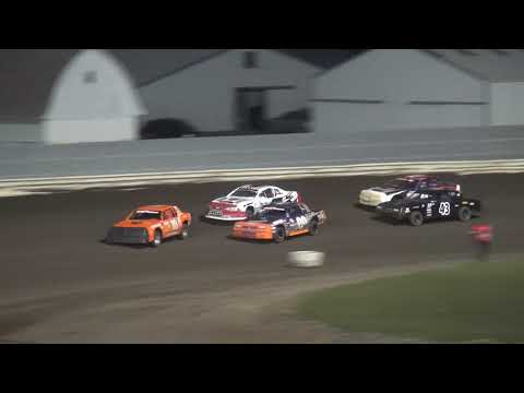 Shiverfest Stock Car Heat 3 Lee County Speedway 10/27/18