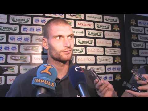 Martin Juhar po utkání s FC Vaslui
