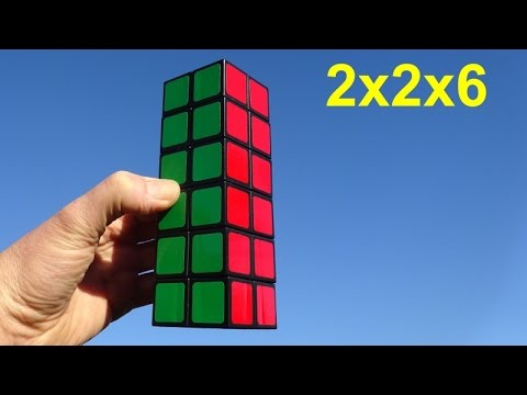 Unboxing & Demo:  Witeden 2x2x6 And 2x2x4 Cuboid Puzzles