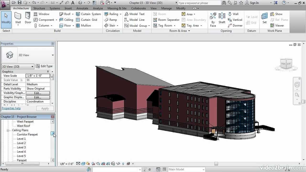 Autocad revit architecture 2010 tutorial.