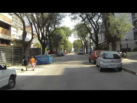 Paseando por Montevideo sin rumbo.