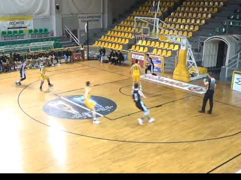 Download Michalis Karlis of AEK Athens BC vs BAC - 11 points, 11 steals in 20 minutes!