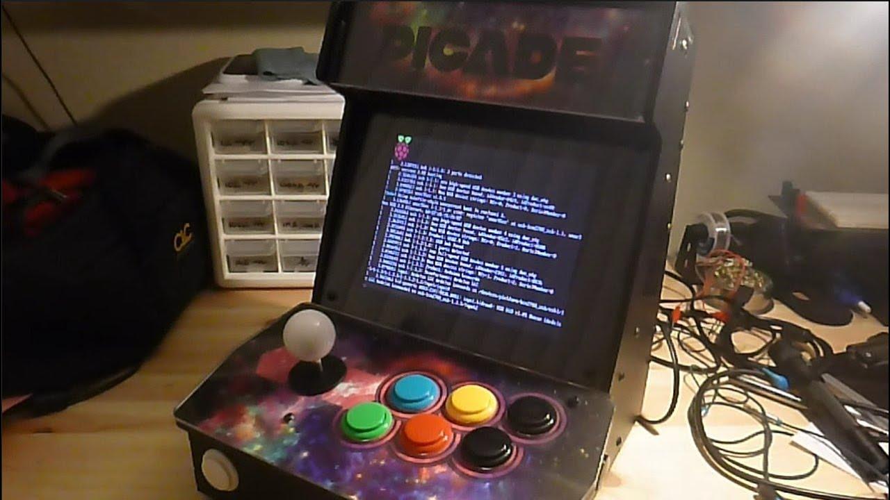 Picade Mini build running RetroPie  YouTube