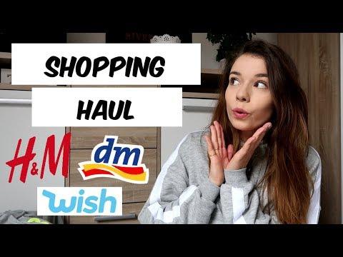 SHOPPING HAUL | Wish, DM, H&M uvm.