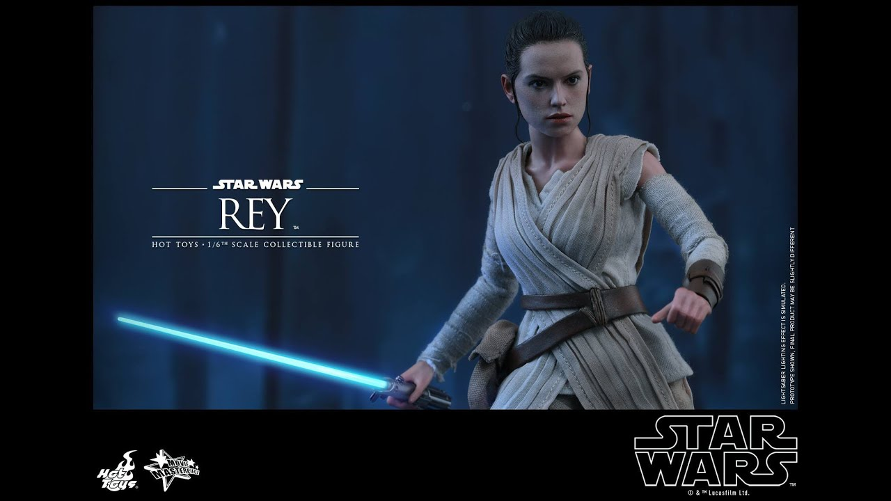 hot toys star wars the force awakens rey 2 0 overview