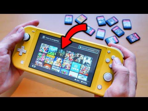 probando 10 JUEGOS en mi Nintendo SWITCH LITE 😈