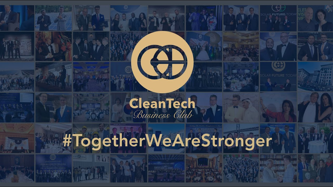 Join #TogetherWeAreStronger Initiative by CleanTech Business Club & its Visionary Partners