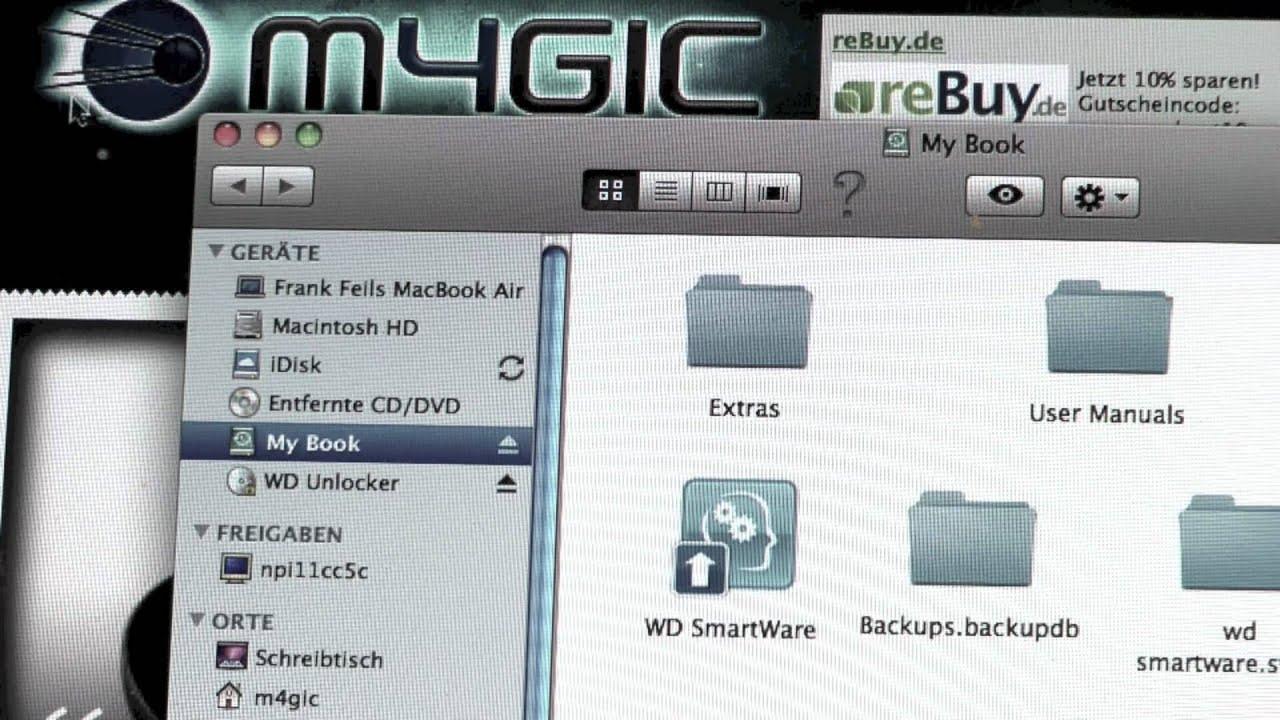 Review: die neue Western Digital My Book Studio Festplatte für Mac im Test