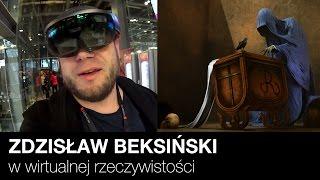 Obrazy Beksińskiego w wirtualnej rzeczywistości