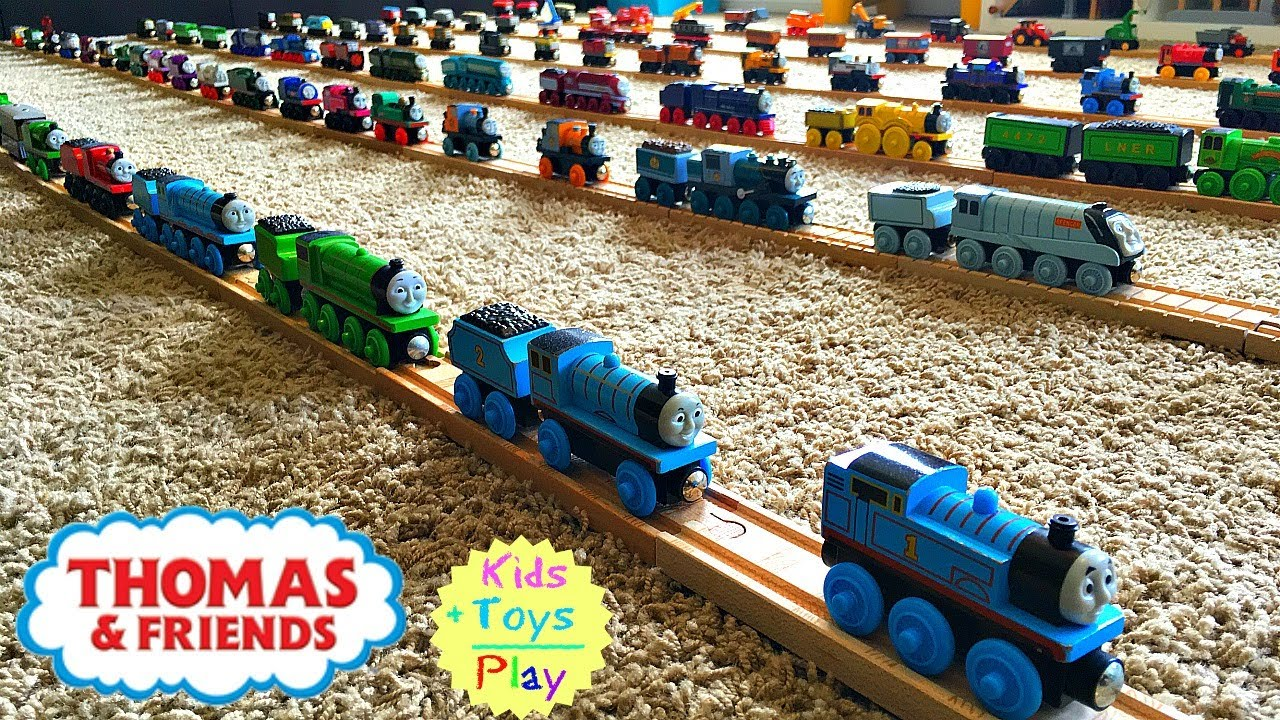 Thomas Wooden Railway Collection Big Thomas The Tank Engine Collection