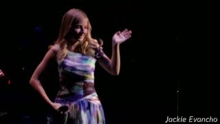 Jackie Evancho - Somewhere Over The Rainbow (Live in Concert)