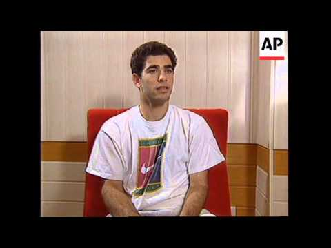 RUSSIA: DAVIS CUP TENNIS FINAL PREVIEW: PETE SAMPRAS INTERVIEW