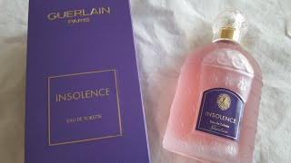 GUERLAIN INSOLENCE EDT REVIEW | Heavenly Violets!
