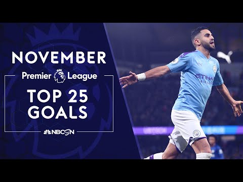 Top 25 Premier League goals from November 2019 | NBC Sports
