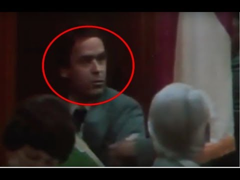 5 Scariest TED BUNDY Moments Caught On Tape | # 2
