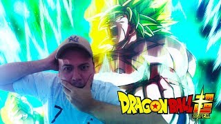 🔴 REACTION LIVE TRAILER 3 DU FILM DRAGON BALL SUPER BROLY !