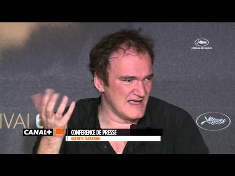 Cannes 2014 - QUENTIN TARANTINO : The press conference