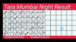 Tara Mumbai Night Result 04/05/2020 Daily Success