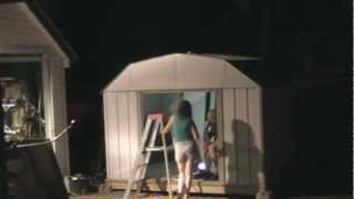 Time Lapse: Puttin' Up The Shed!