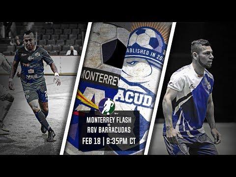 Monterrey Flash vs RGV Barracudas