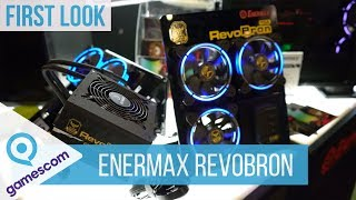 Enermax RevoBron TGA Edition - First Look #Gamescom2018 (Deutsch)