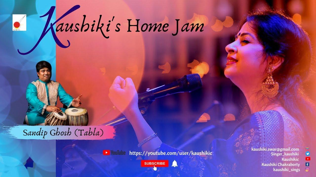 Download Raag-Bageshree || Yaad Karu Mata Saraswati || Kaushiki's Home Jam || Kaushiki Chakraborty || 2021