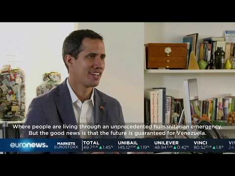 Venezuela Crisis: Self-declared interim president Juan Guaidó speaks out against Maduro | #GME