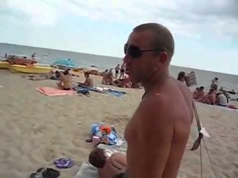 Прикол на пляже » Приколы. Фото приколы. Видео приколы