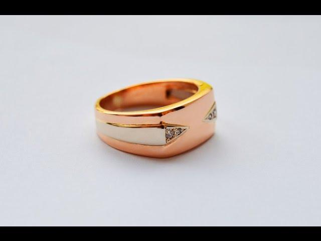 Мужское кольцо\Men's gold ring