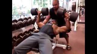 Vegan Bodybuilder K. Lawson (Go Hard or Go Home) 08/31/2013