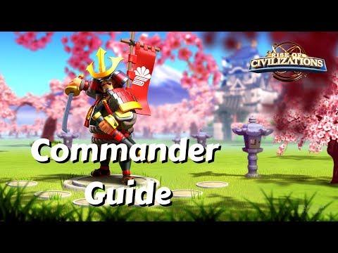 Kusunoki Masahige Commander GUIDE | Rise Of Civilizations
