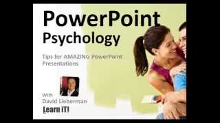 Learn iT! PowerPoint Psychology – Tips for AMAZING PowerPoint Presentations
