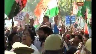 Congress protest against Demonetisation in Chandigarh
