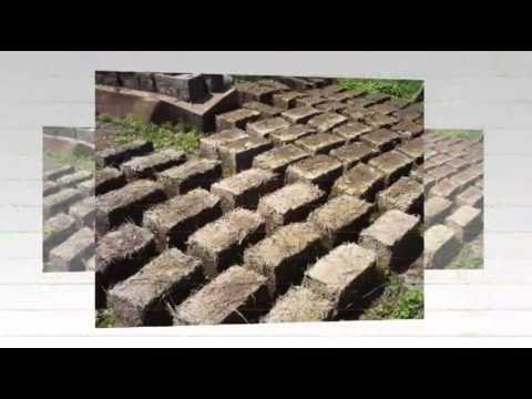 Как наделать земляных блоков саманов для стройки