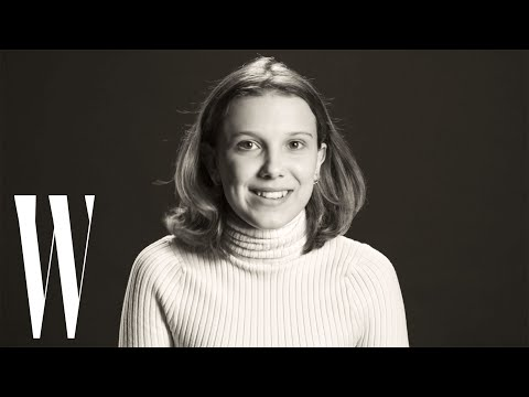 Millie Bobby Brown on Eleven Halloween Costumes, Beyoncé, and Drake | Screen Tests | W Magazine